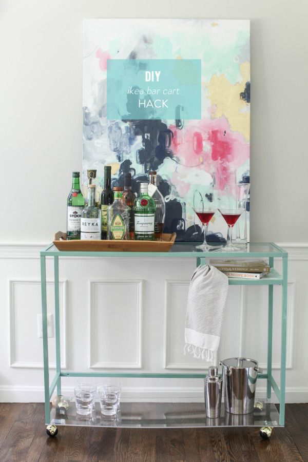 Ikea-bar-cart