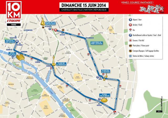 10km Equipe 2014